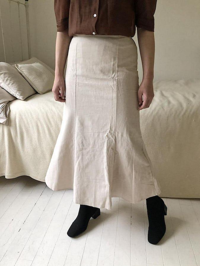 tulips long skirt-0