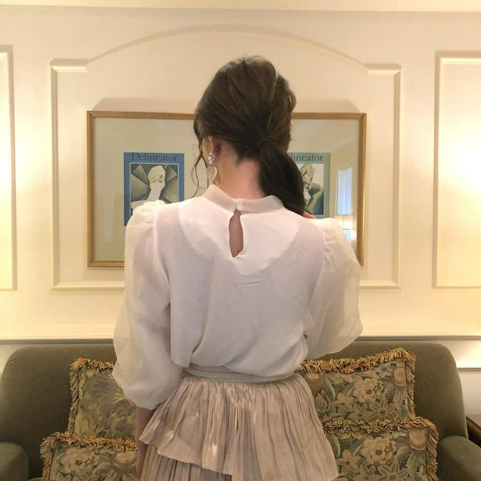 princess tulle blouse