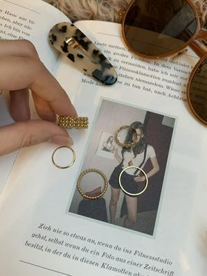rétro set ring