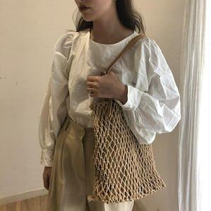 casual mesh bag