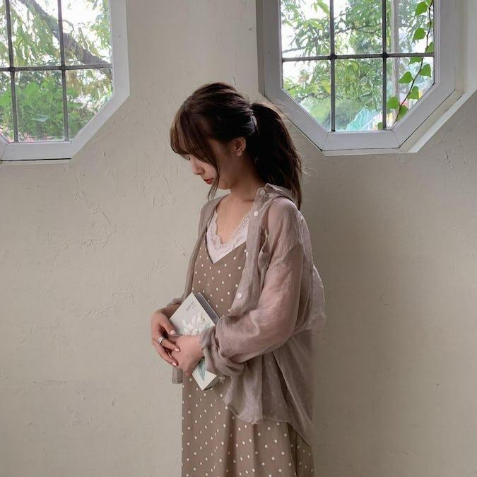 【10/28~順次発送】organdy shirts
