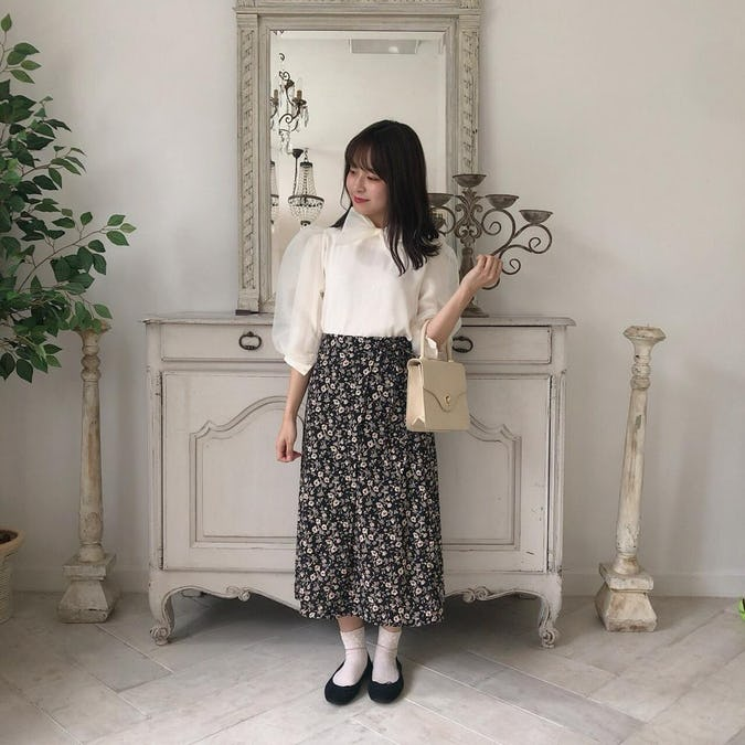 ribbon tulle puff bl