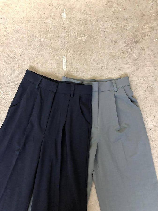 simple high waist pants