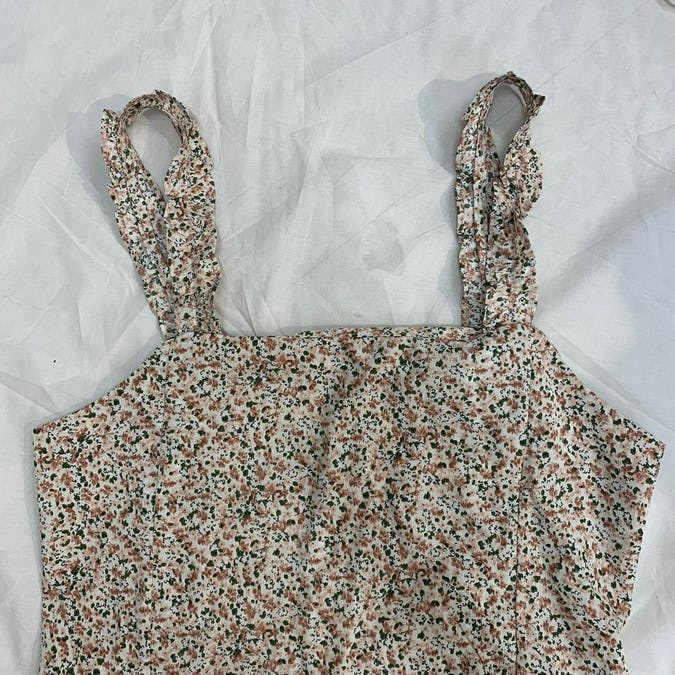 girly flower cami ops