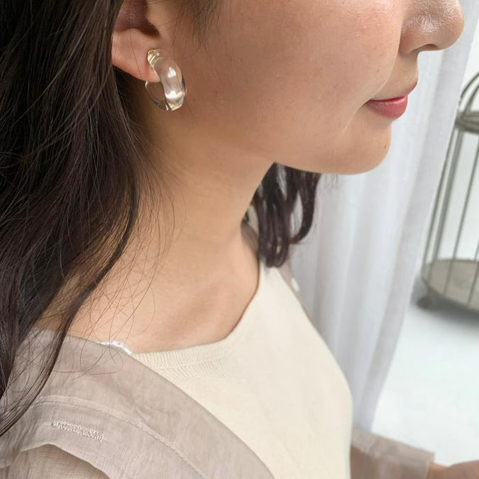 hoop candy earring