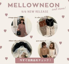 mellowneon 9/6 New release items
