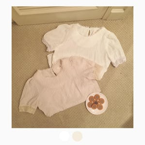 petite race blouse