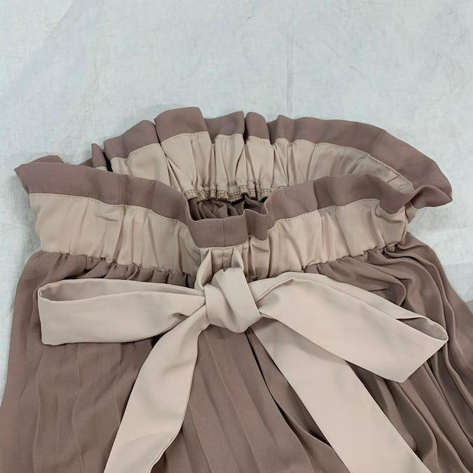 mellow's ribbon pleats sk