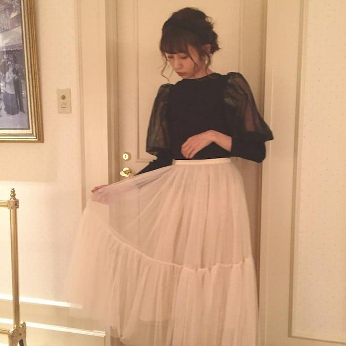 ballerina tulle skirt