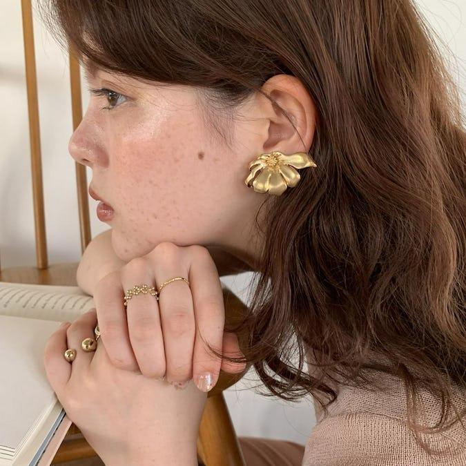 cosmos earring
