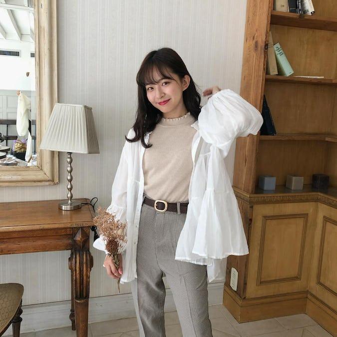loen frill blouse