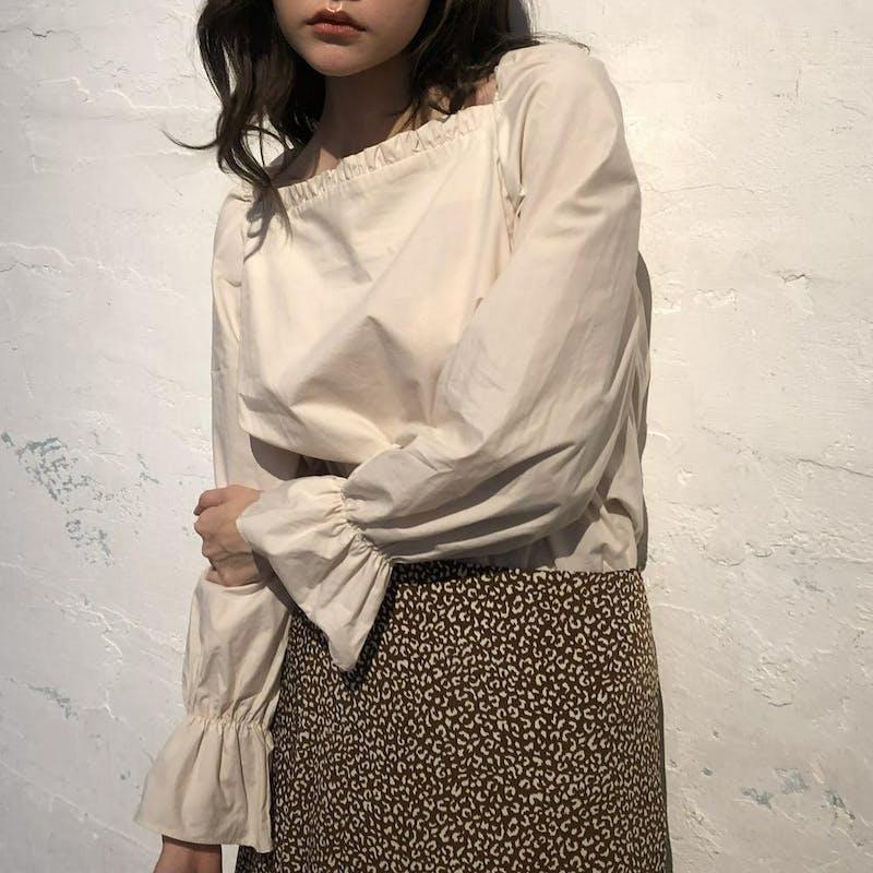 プチレオパードスカートの画像10枚目
