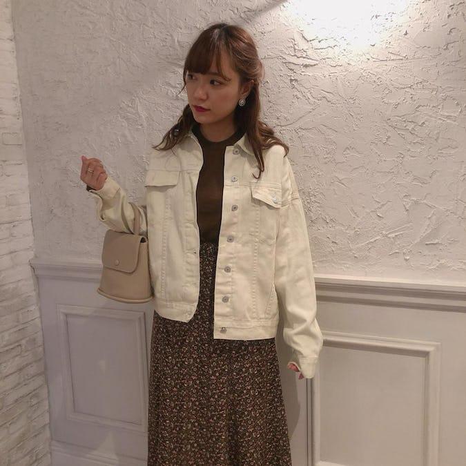 simple ivory jacket