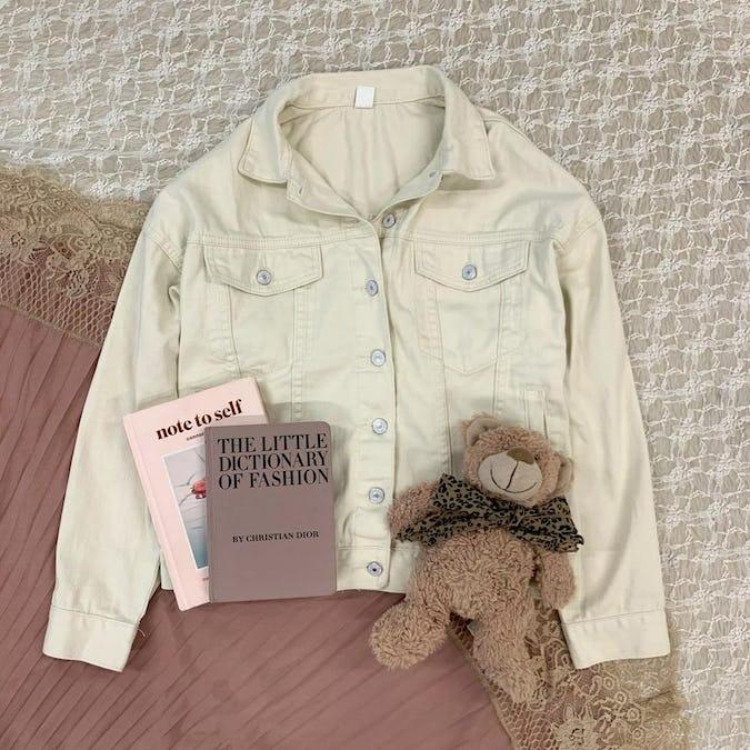 simple ivory jacket-0