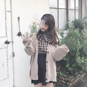 【11/29~順次発送】cafe latte cardigan