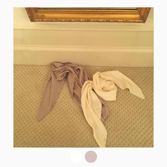 pleats vintage scarf-0