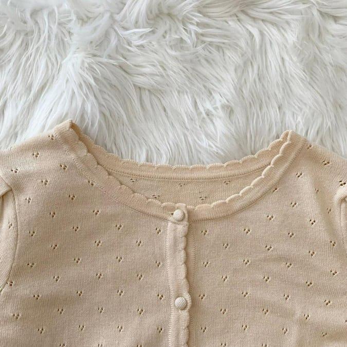 mellow's baby cardigan