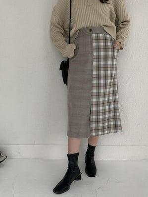 check long skirt