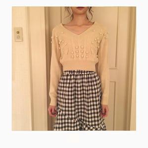 【12/2~順次発送】ponpon mini knit