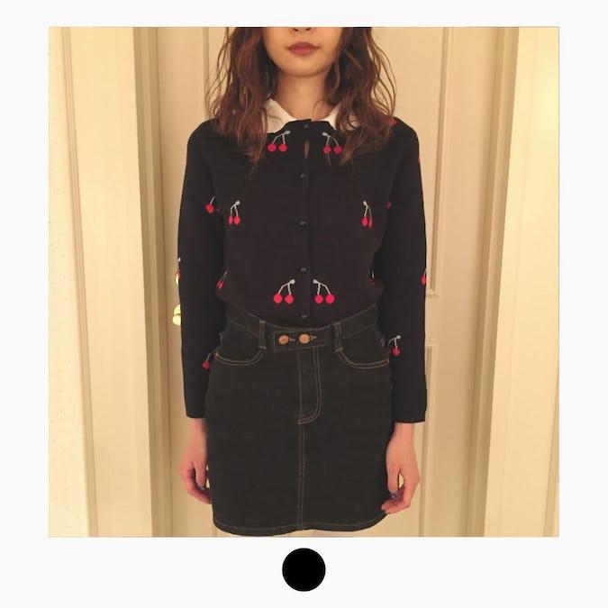 cherry girly cardigan-0