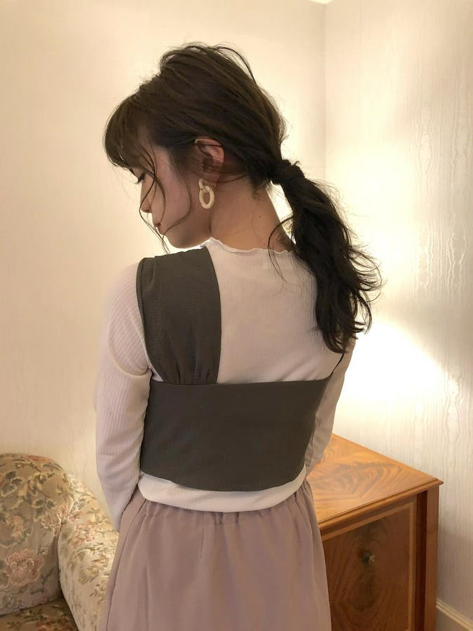 mellow frill girly tops