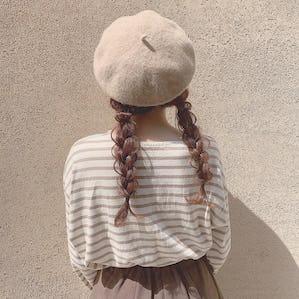 fluffy beret