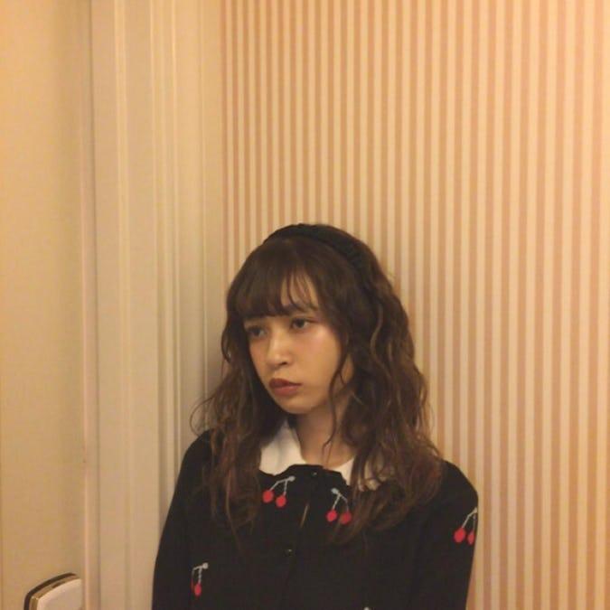 cherry girly cardigan