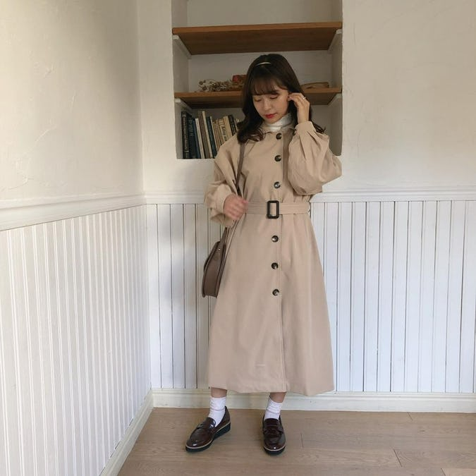 simple trench cort-0