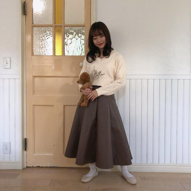 レザースカートの画像2枚目