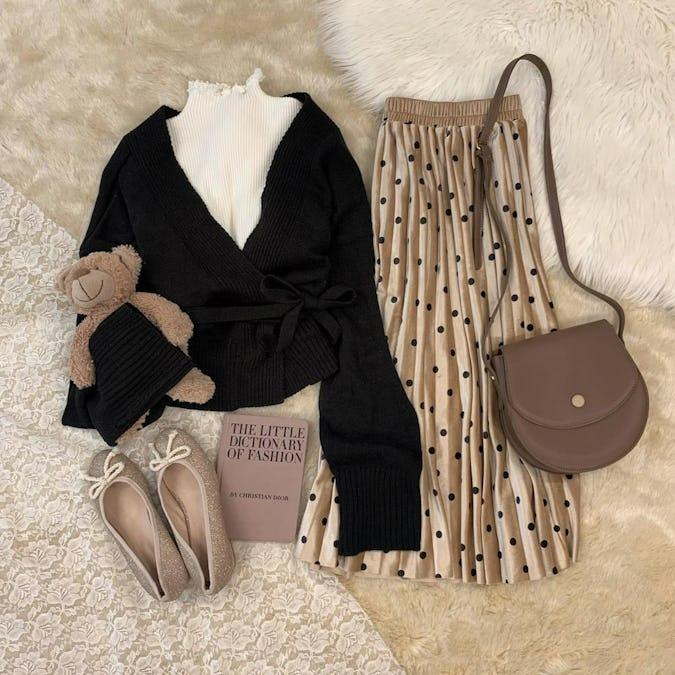 waist ribbon cardigan