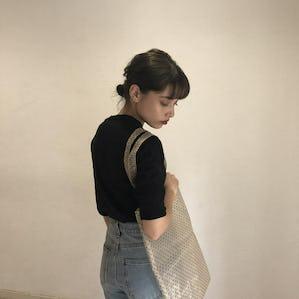 dot seethrough bag