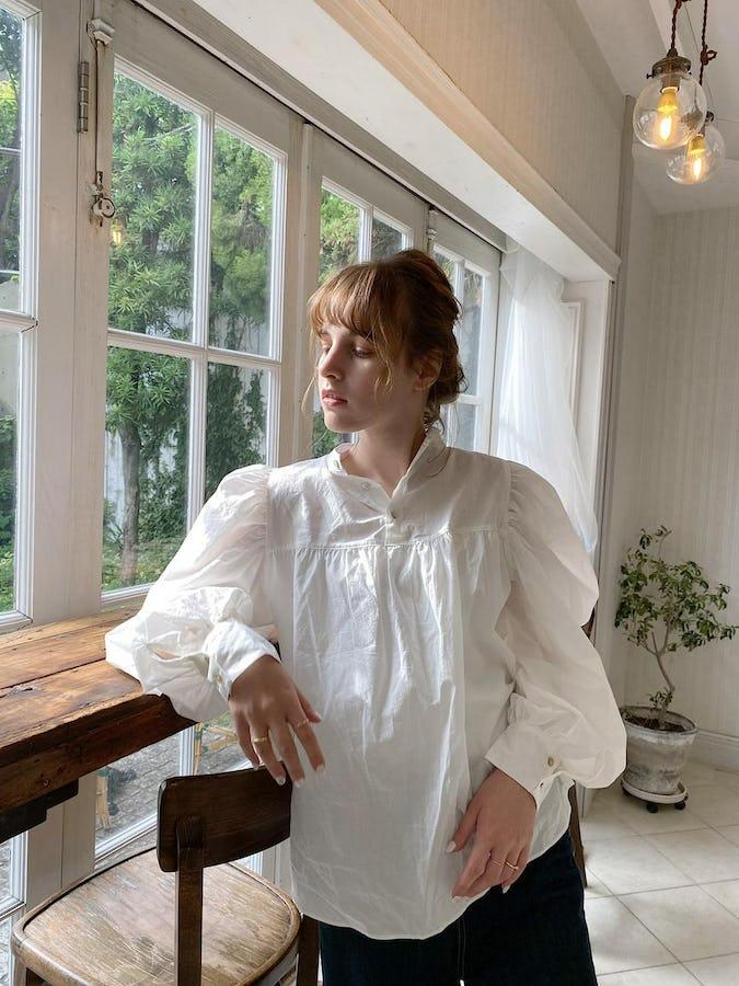 arm volume blouse-0