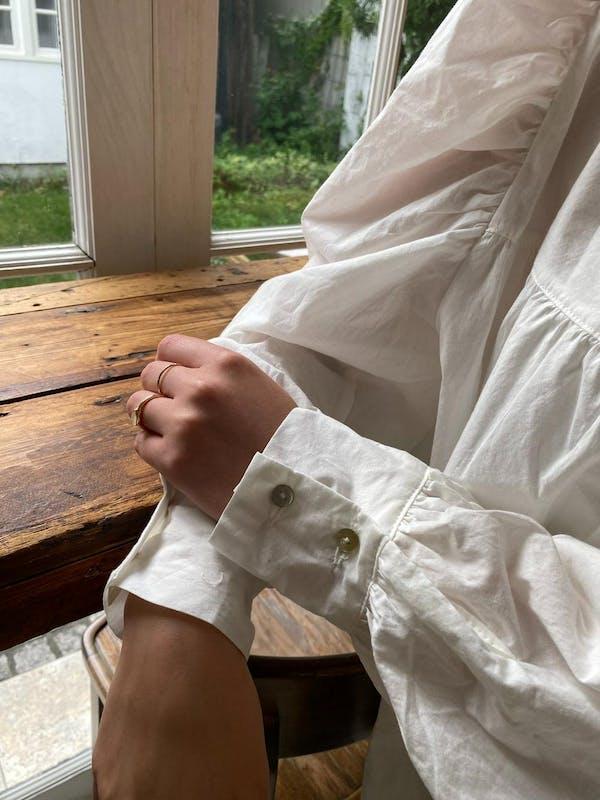 arm volume blouseの画像18枚目