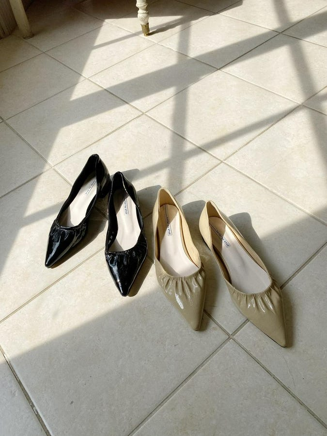pointed flat shoes-0