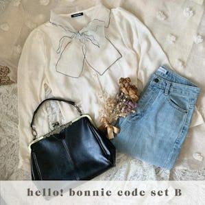 Hello! Bonnie shop SET【B】