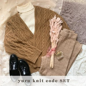 yuru knit code set