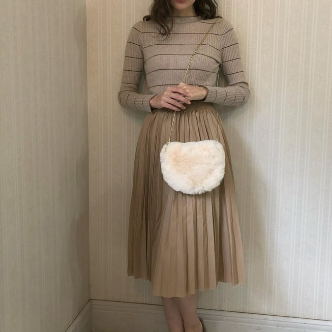 leather pleats sk-0