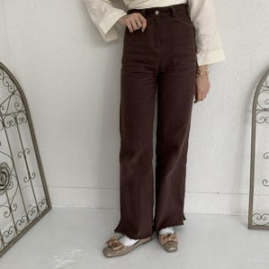 highweist stitch pants