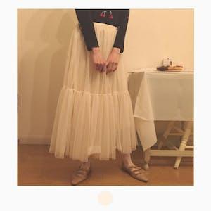 バレリーナチュールスカート