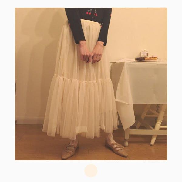 バレリーナチュールスカートの画像1枚目