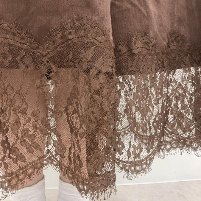 mellow's ribbon lace sk