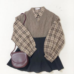 cafe latte knit vest