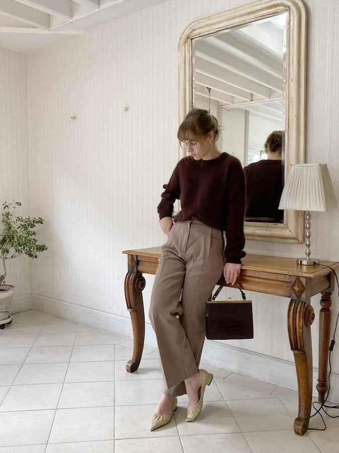 classical high waist pants