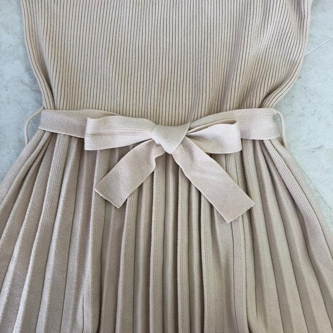 waist ribbon knit op
