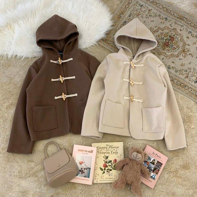 【11/22~順次発送】winter duffle coat-0