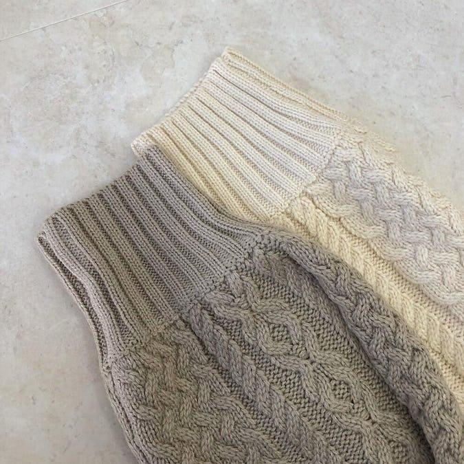 key neck knit