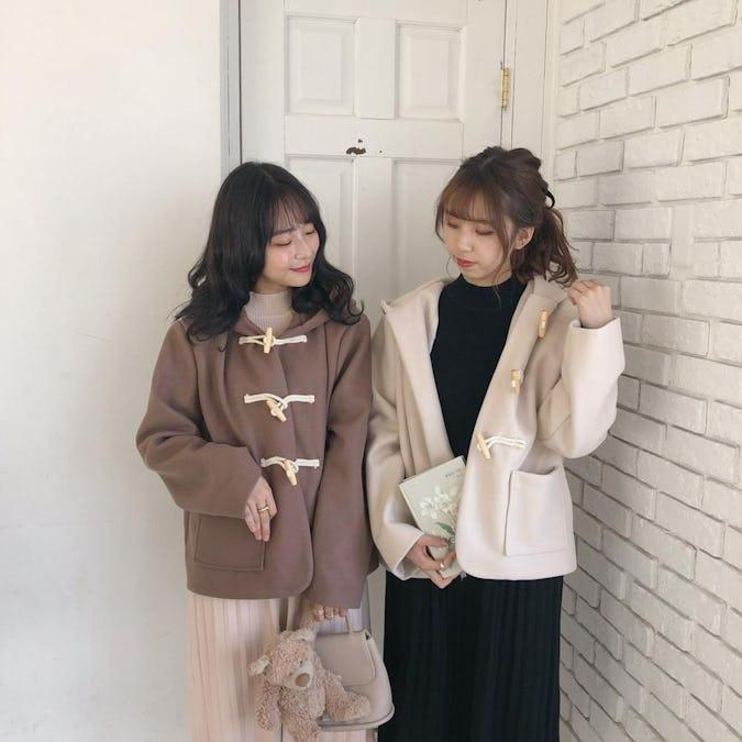 【11/22~順次発送】winter duffle coat