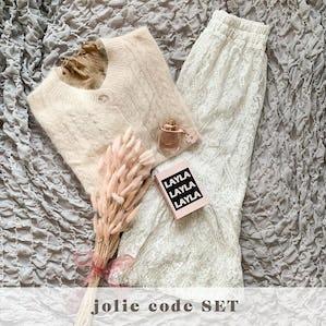 jolie code SET