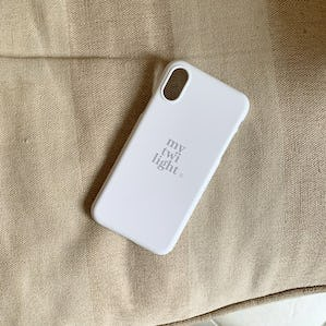 mytwilight logo iphone case IVORY