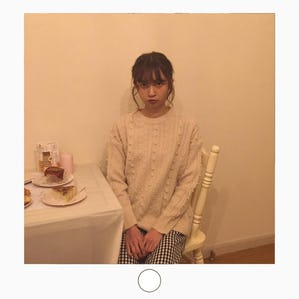 【11/15~順次発送】 rabbit pearl knit